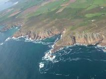 Linea costiera della Cornovaglia Fotografie Stock