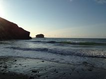Linea costiera della Cornovaglia Immagine Stock
