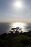 Linea costiera della Croazia Fotografia Stock
