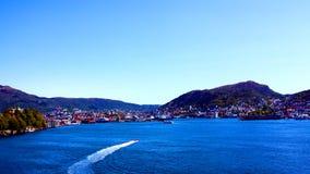 Linea costiera della Norvegia Immagini Stock Libere da Diritti