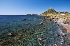 Linea costiera della penisola di Parata Fotografie Stock