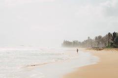 Linea costiera della Sri Lanka Fotografie Stock