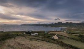 Linea costiera di Allihies, sughero della contea, Irlanda fotografia stock libera da diritti