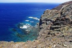 Linea costiera di Alojera Immagine Stock Libera da Diritti