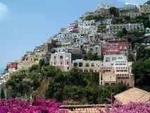 Linea costiera di Amalfi Immagini Stock