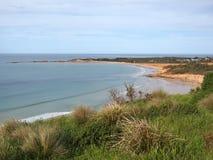 Linea costiera di Anglesea in Victoria Fotografia Stock Libera da Diritti