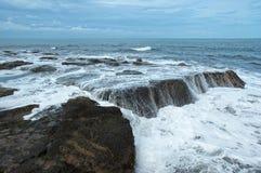 Linea costiera di Bali Fotografia Stock