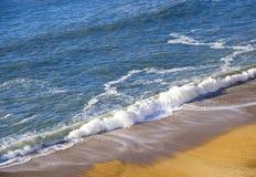 Linea costiera di Biarritz Fotografie Stock