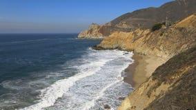 Linea costiera di Big Sur Fotografie Stock