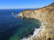 Linea costiera di Big Sur Fotografia Stock
