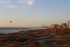 Linea costiera di Blouberg Fotografia Stock