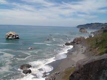 Linea costiera di California Fotografia Stock Libera da Diritti