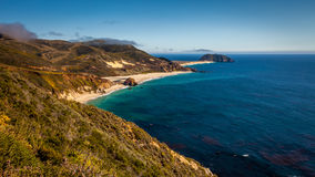 Linea costiera di California Fotografie Stock