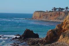 Linea costiera di California di Palos Verdes Immagine Stock