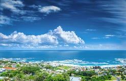 Linea costiera di Cape Town fotografie stock libere da diritti