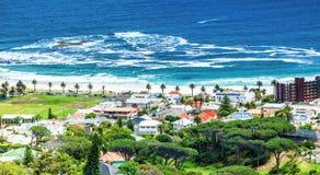 Linea costiera di Cape Town fotografia stock