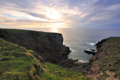 Linea costiera di Co.Kerry Fotografia Stock