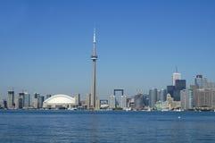 Linea costiera di giorno di Toronto Fotografia Stock Libera da Diritti