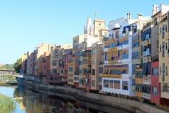 Linea costiera di Girona Fotografia Stock