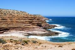 Linea costiera di Kalbarri Fotografia Stock