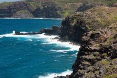 Linea costiera di Maui Fotografia Stock Libera da Diritti