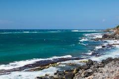 Linea costiera di Maui Immagine Stock