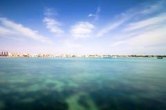 Linea costiera di Oporto Cesareo in costa ionica, Italia Immagini Stock