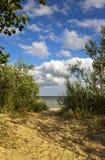 Linea costiera di pietra Fotografie Stock Libere da Diritti