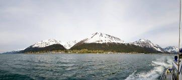 Linea costiera di Seward fotografie stock