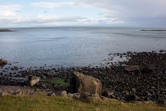 Linea costiera di Skye Fotografia Stock