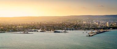 Linea costiera di Varna Mar Nero Immagine Stock Libera da Diritti