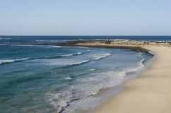 Linea costiera graziosa della Sudafrica Fotografia Stock