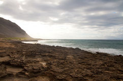 Linea costiera hawaiana Immagine Stock Libera da Diritti