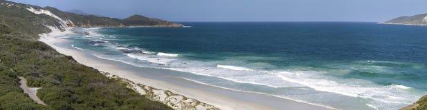 Linea costiera incontaminata Fotografia Stock Libera da Diritti