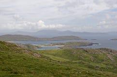 Linea costiera irlandese Fotografia Stock Libera da Diritti