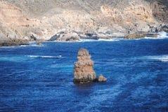 Linea costiera irregolare Immagini Stock Libere da Diritti