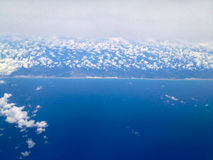 Linea costiera nel Brasile immagini stock libere da diritti