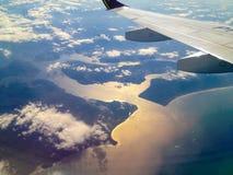 Linea costiera nel Brasile immagine stock libera da diritti