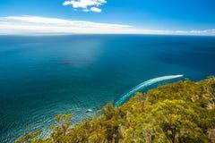 Linea costiera nel parco nazionale del sud di Bruny: Fotografie Stock Libere da Diritti
