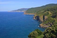 Linea costiera nordica della Spagna Immagine Stock Libera da Diritti