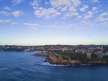 Linea costiera orientale di Sydney Fotografie Stock Libere da Diritti