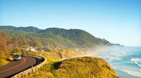 Linea costiera pacifica Fotografia Stock