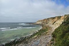 Linea costiera portoghese Immagini Stock