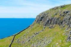 Linea costiera scozzese Fotografia Stock