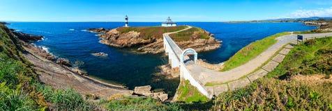 Linea costiera Spagna di Pancha dell'isola Fotografia Stock