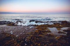 Linea costiera spagnola, mar Mediterraneo Immagine Stock