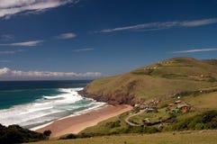 Linea costiera sudafricana Fotografie Stock