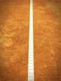 Linea del campo da tennis (139) Fotografia Stock