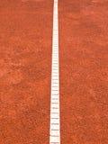 Linea del campo da tennis (164) Immagini Stock