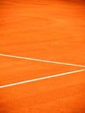 Linea del campo da tennis (151) Fotografia Stock